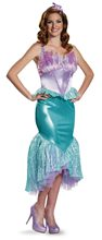 Picture of Little Mermaid Deluxe Ariel Adult Womens Costume