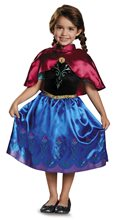 Picture of Frozen Classic Traveling Anna Toddler Costume