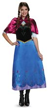 Picture of Frozen Deluxe Traveling Anna Adult Womens Costume