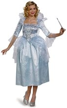 Picture of Cinderella Movie Deluxe Fairy Godmother Adult Womens Costume