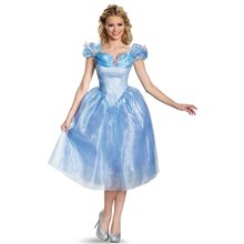 Picture of Cinderella Movie Deluxe Adult Womens Costume