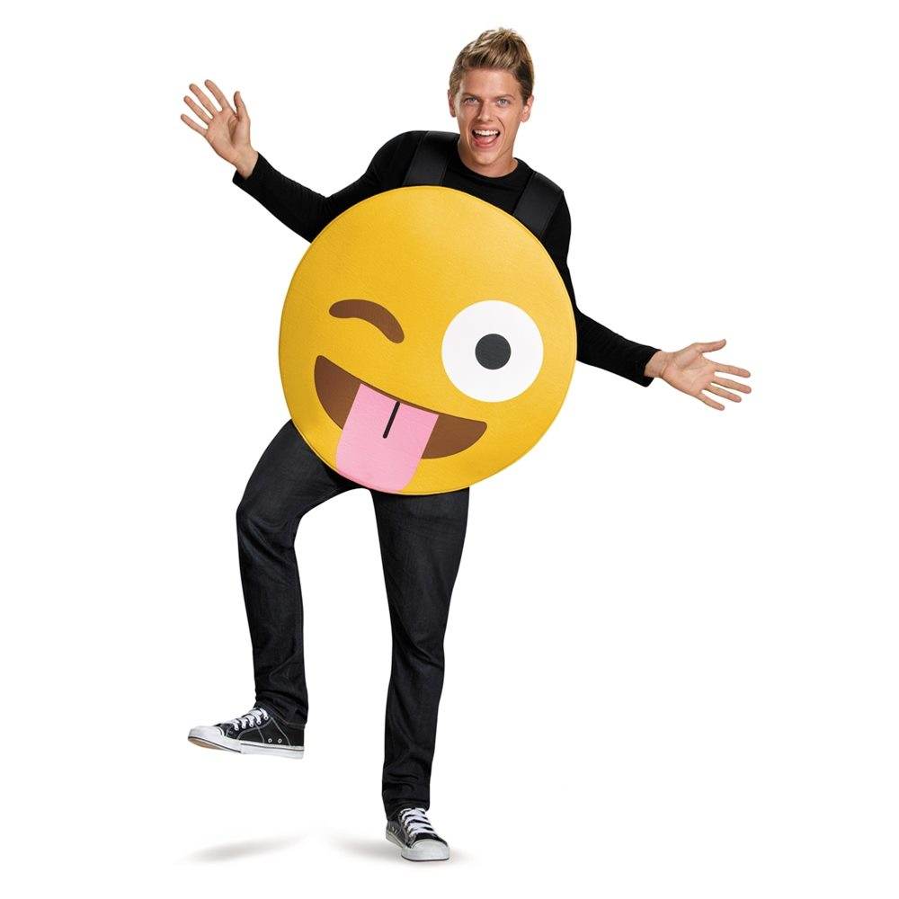 Picture of Tongue Out Emoji Adult Unisex Costume