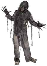 Picture of Burning Dead Zombie Adult Mens Costume