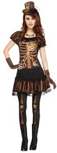 Picture of Skele-Punk Adult Womens Costume