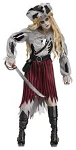Picture of Zombie Pirate Queen Adult Womens Costume