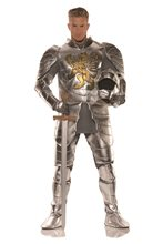 Picture of Knight in Shining Armor Adult Mens Plus Size Costume