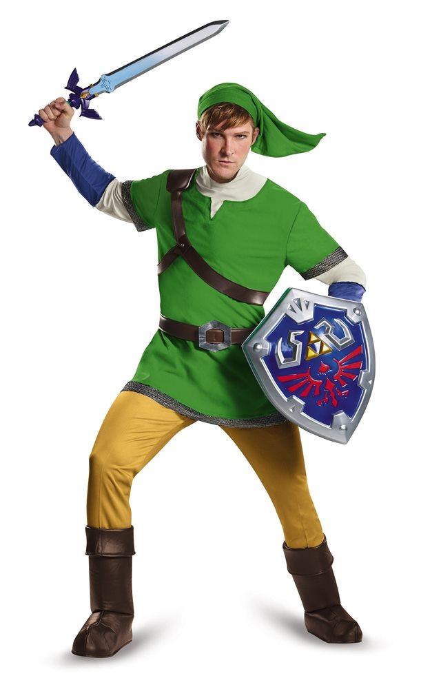 Picture of Zelda Deluxe Link Hylian Adult Mens Costume