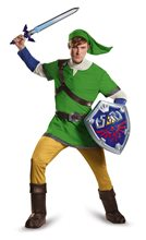 Picture of Zelda Deluxe Link Hylian Adult Mens Costume