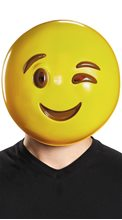 Picture of Winking Emoji Adult Mask