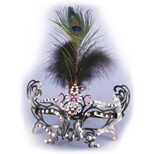 Picture of Flapper Feather Eye Mask with Frames