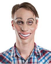 Picture of Eradicate & Smile Male Latex Mask
