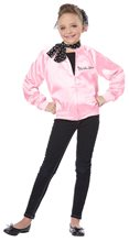 Picture of Pink Satin Ladies Child Costume