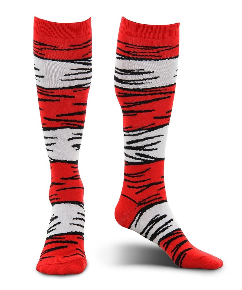 Picture of Dr. Seuss Cat in the Hat Adult Unisex Socks