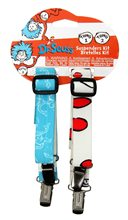 Picture of Dr. Seuss Thing 1&2 Mismatched Suspenders