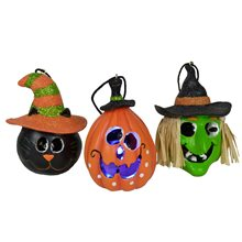 Picture of Light-Up Halloween Ornament (More Styles)