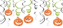 Picture of Family Friendly Halloween Pumpkins & Ghosts Foil Swirls