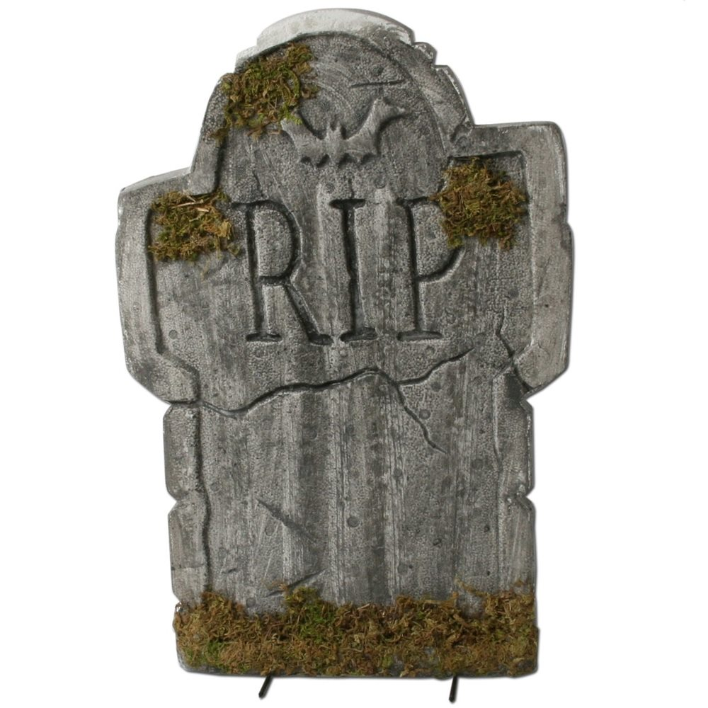 Picture of Mossy Bat Tombstone 22in