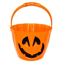Picture of Pumpkin Bucket with Lights