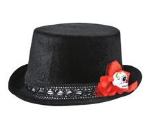 Picture of Day of the Dead Mini Top Hat