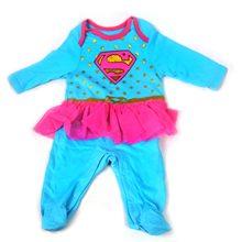 Picture of Supergirl Tutu Infant Bodysuit