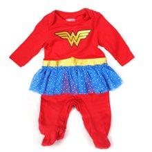 Picture of Wonder Woman Tutu Infant Bodysuit