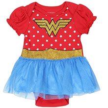 Picture of Wonder Woman Tutu Infant Onesie