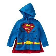 Picture of Superman Toddler Hoodie with Cape