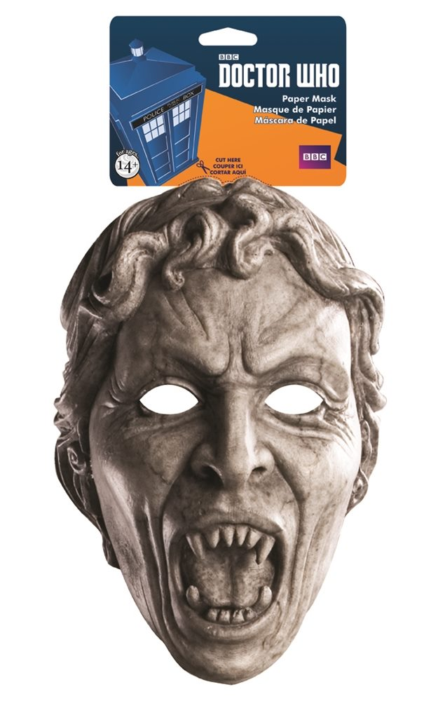 Picture of Doctor Who Weeping Angel Paper Mask