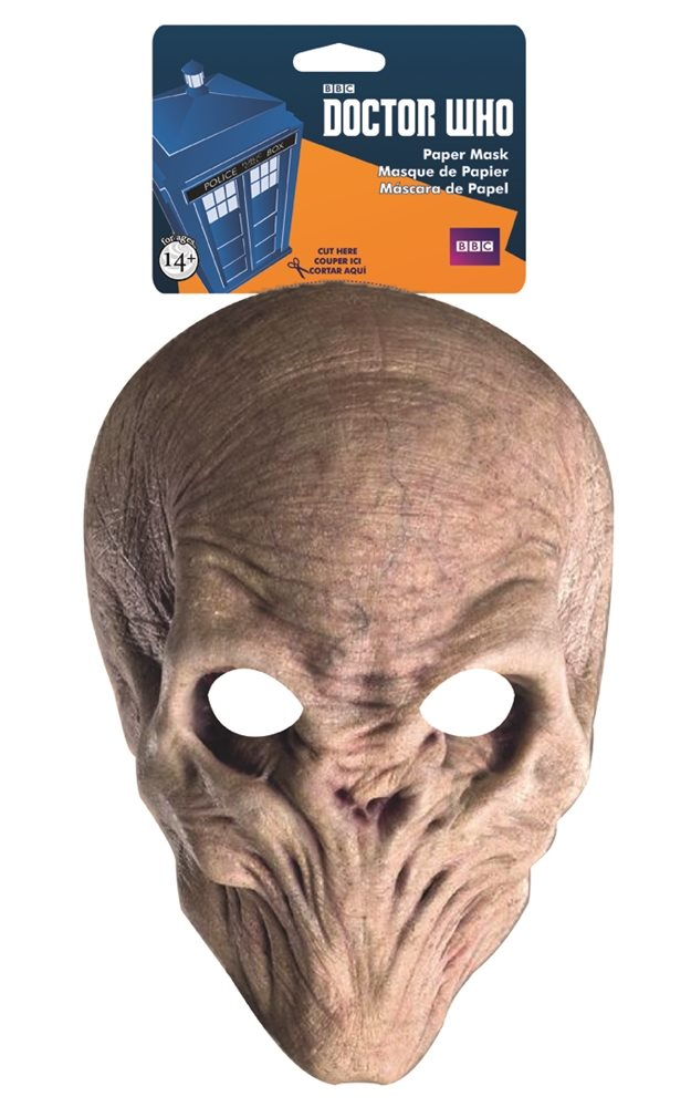 Picture of Doctor Who The Silence Paper Mask