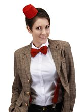 Picture of Doctor Who Mini Fez & Bow Tie Kit