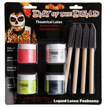 Picture of Day of the Dead Body Paint Kit