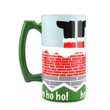 Picture of Bottoms Up It's Christmas Stein Glass 26oz