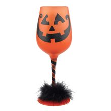 Picture of Get Smashed Halloween Wine Glass 15oz
