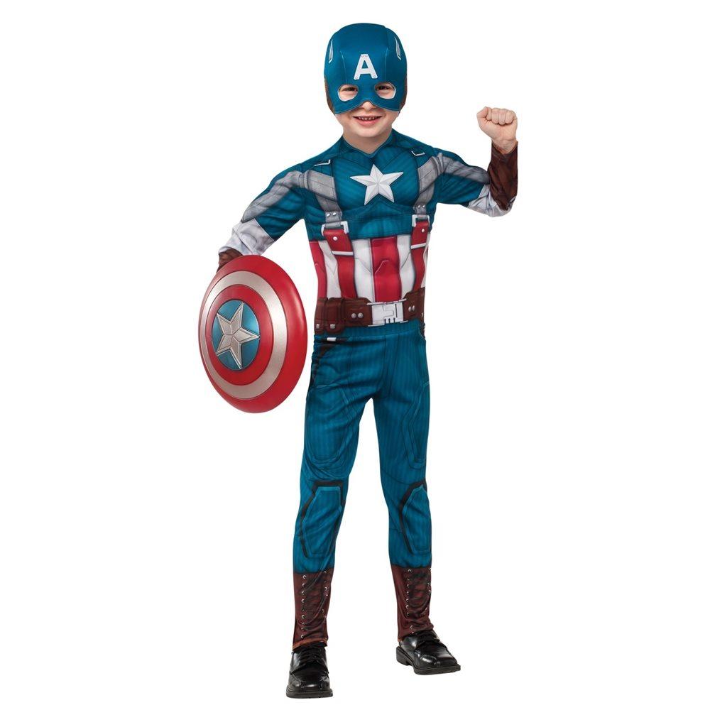 Picture of Captain America EVA Retro Suit Child Costume 2