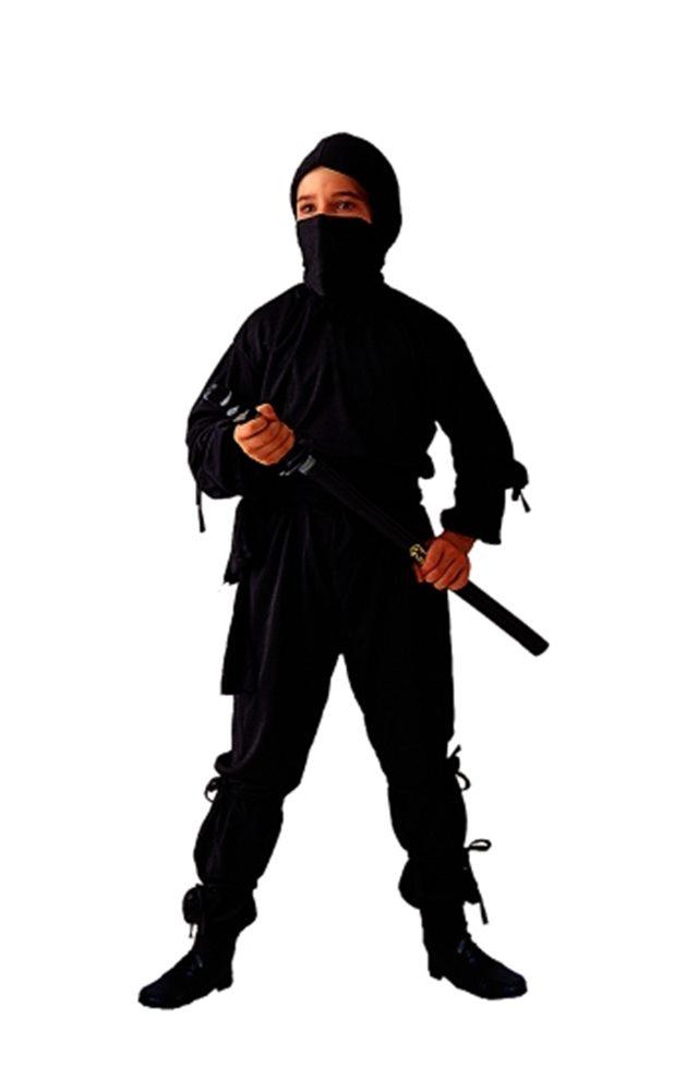 Picture of Ninja Black Child Costume 2