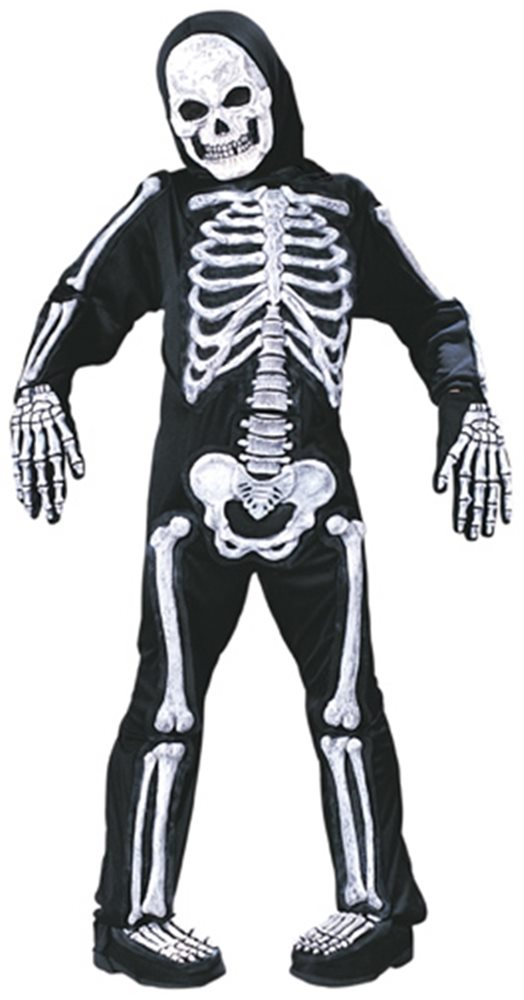 Picture of 3D Skeleton Child Costume 2