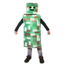 Picture of Green Pixel Robot Monster Child Costume