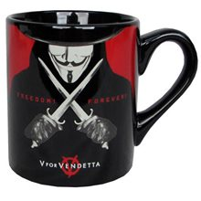 Picture of V For Vendetta Black Mug