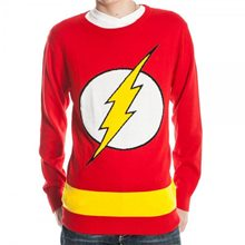Picture of The Flash Adult Mens Knit Sweater