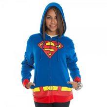 Picture of Supergirl Logo Juniors Hoodie