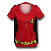 Picture of Robin Suit Up Juniors T-Shirt with Cape