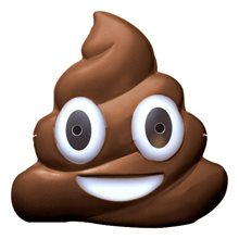 Picture of Poop Emoji Mask