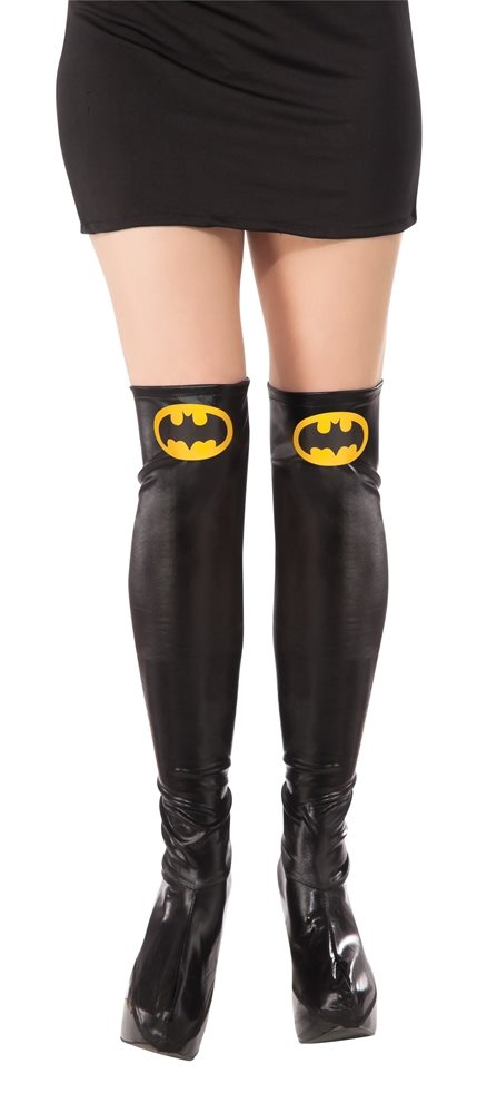Picture of Batgirl Adult Boot Tops