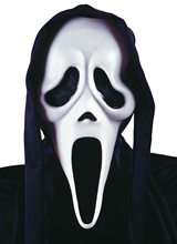 Picture of Scream Ghost Face Vacuform Adult Mask