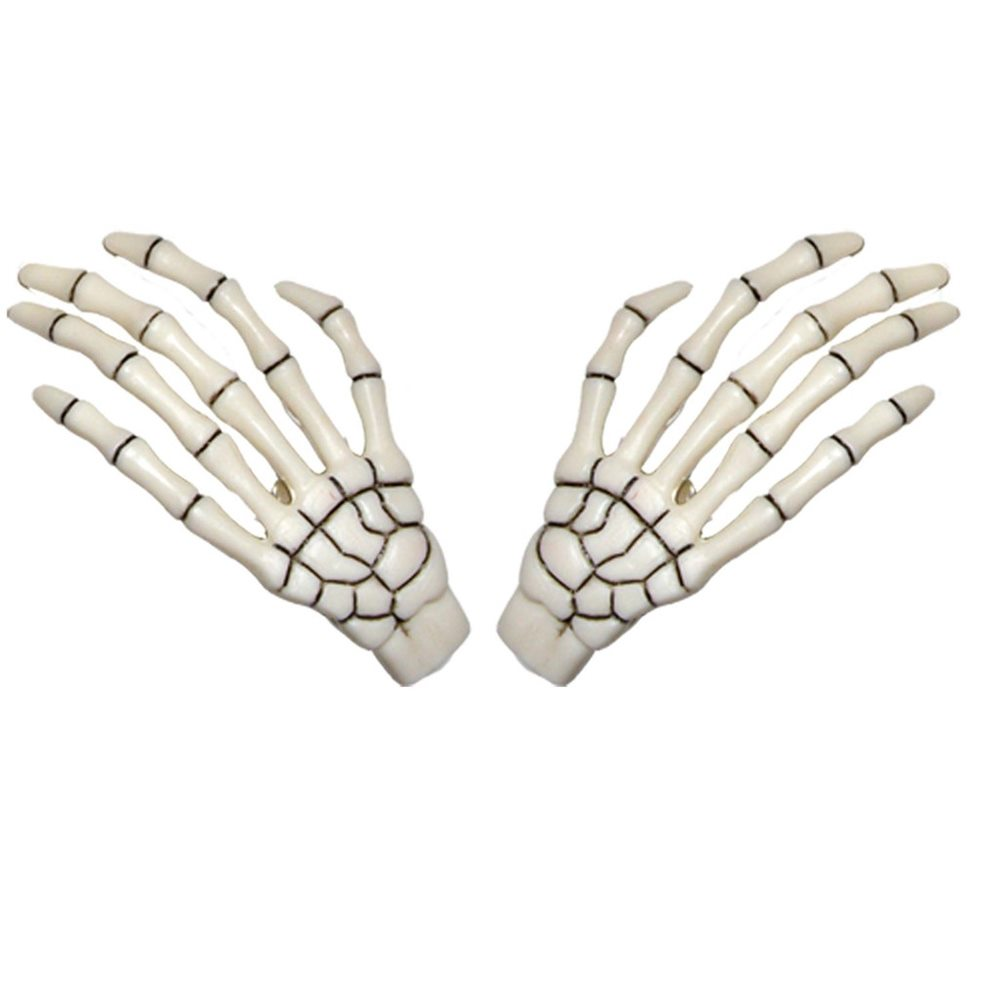 Picture of Skeleton Hand Barrettes