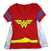 Picture of Wonder Woman V-Neck Adult Womens T-Shirt
