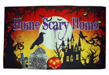 Picture of Home Scary Home Doormat