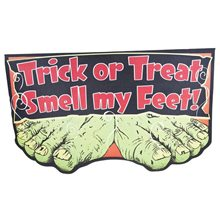 Picture of Trick or Treat Smell My Feet Doormat
