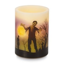 Picture of Zombies in the Cemetery Flameless LED Candle