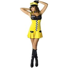 Picture of Sexy Taxi Cab Driver Adult Womens Costume
